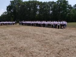 004Antreten des Bataillons Ausholen Königspaar