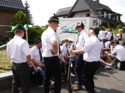 045Antreten des Bataillons Ausholen Königspaar