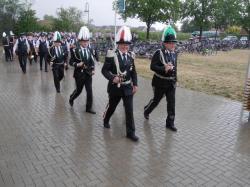 066Antreten des Bataillons Ausholen Königspaar