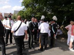 050Antreten des Bataillons Ausholen Königspaar
