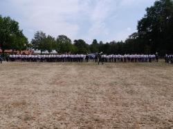 005Antreten des Bataillons Ausholen Königspaar